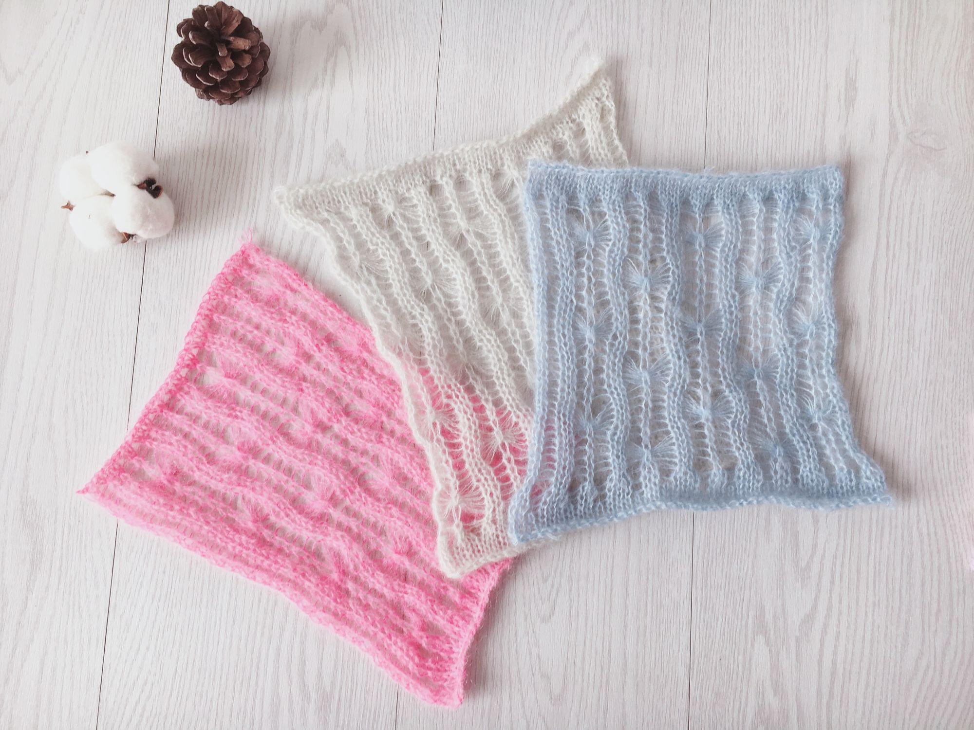 家用编织机机织镂空花