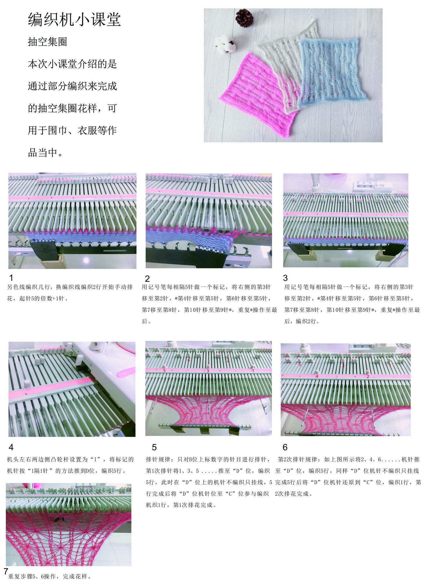LK150编织机小课堂