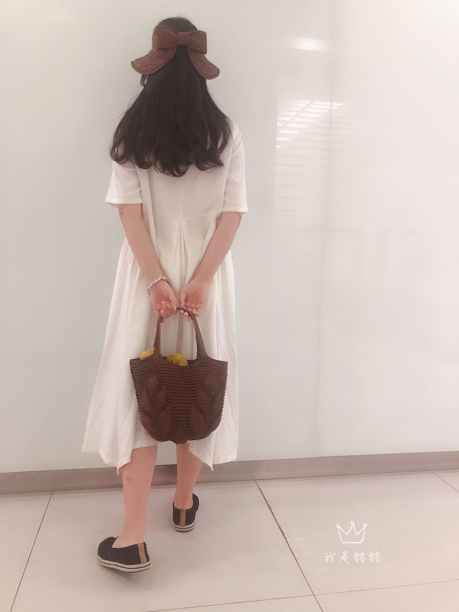 夏日美搭棉草钩针帽子与包包
