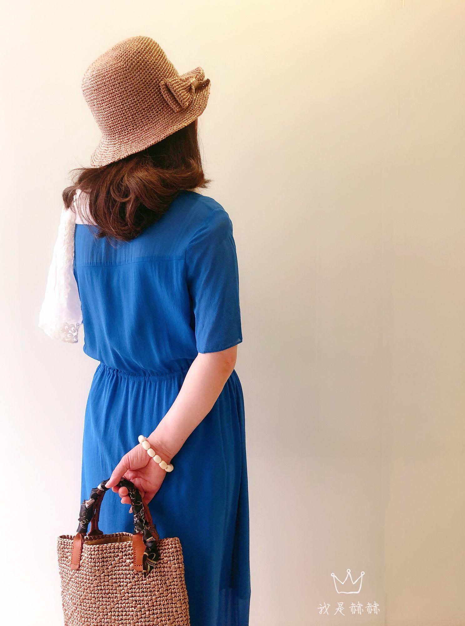女士钩针棉草包包帽子