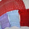 红颜、蓝颜、紫颜、新娘子的-----送朋友的披肩