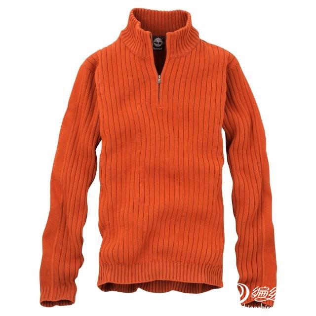 淘宝拉链毛衣-橙色.jpg