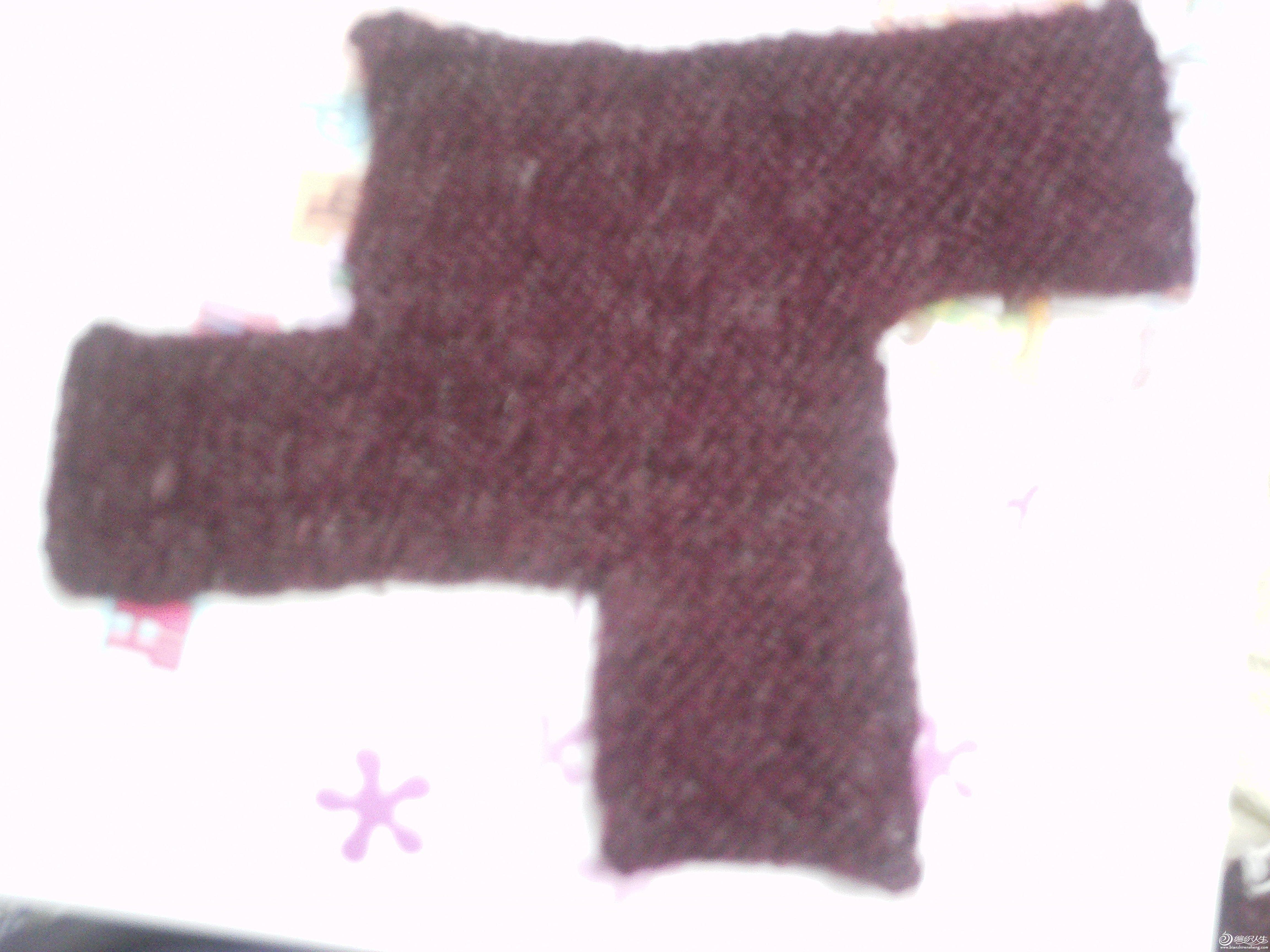 搓板针编织