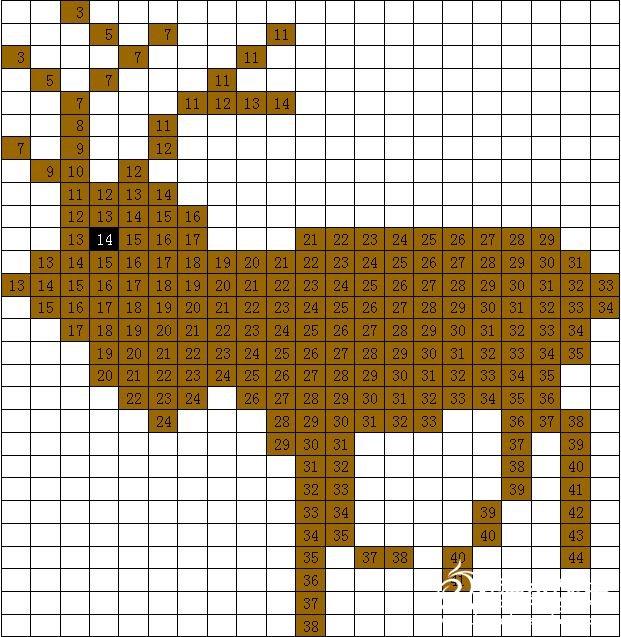 麋鹿图案/图样