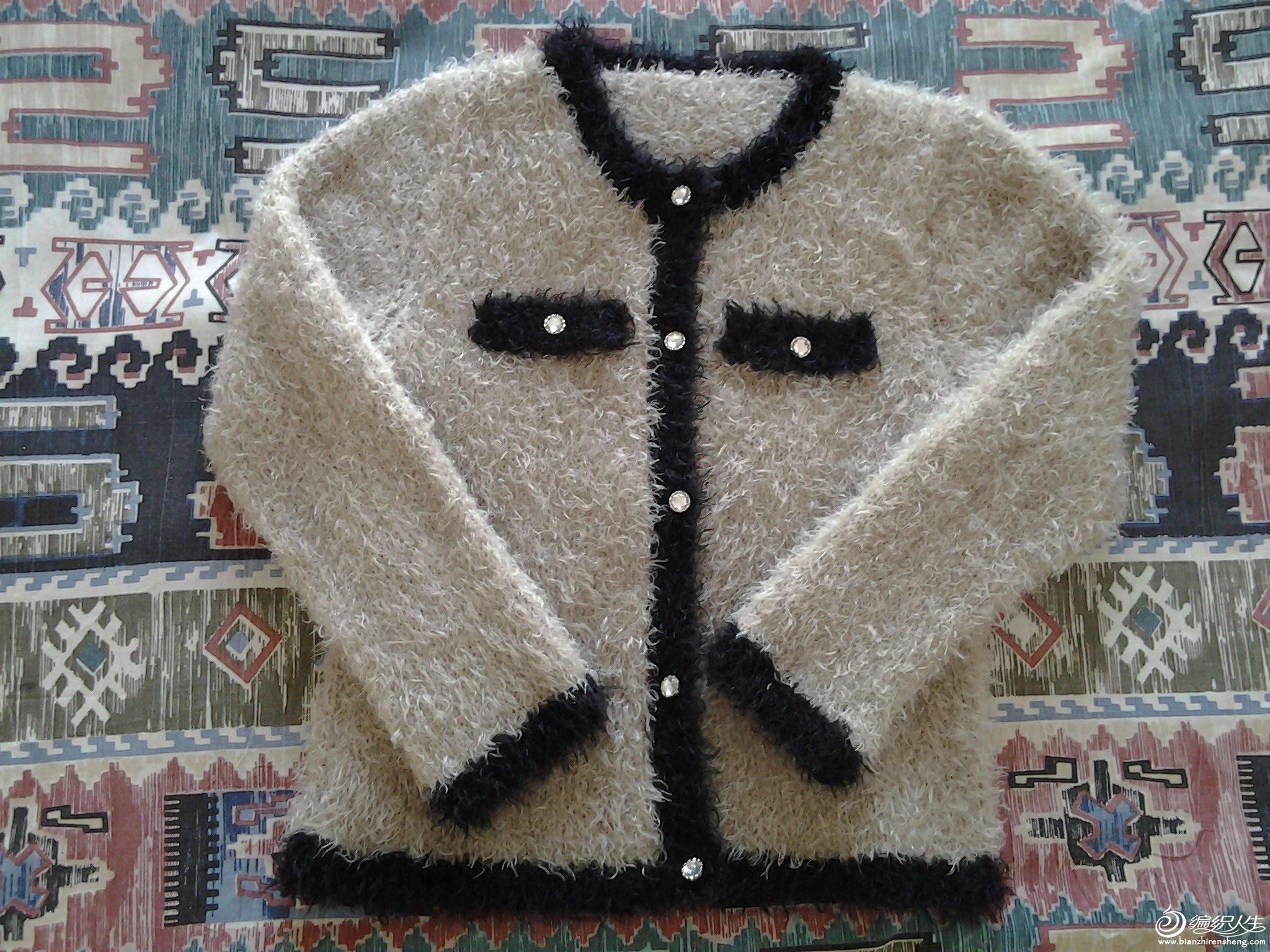 我选了凤尾绒,这个季节,凤尾绒更让人感觉到温暖