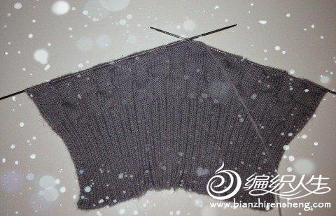 精心编制的围巾