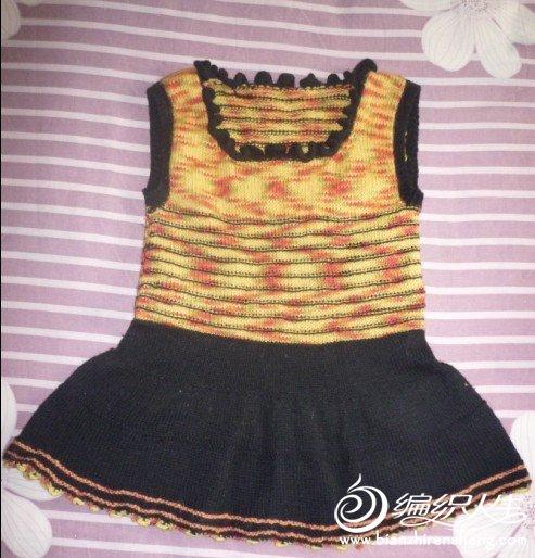 零线织的背心裙