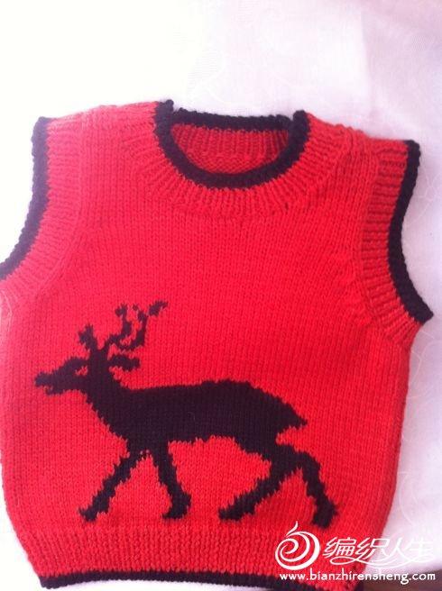 红色驯鹿小童背心.jpg