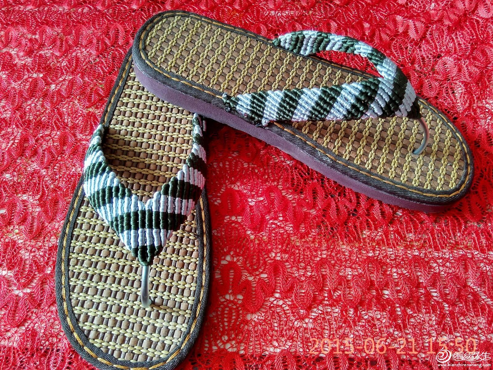手工编织拖鞋,凉鞋