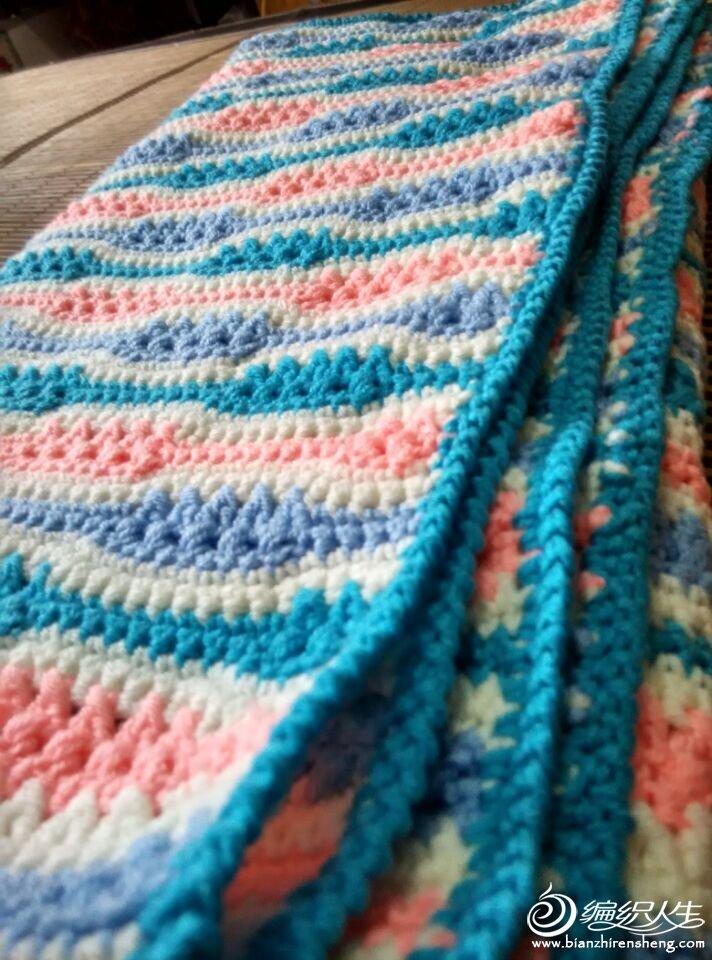 毯子边边的细节图