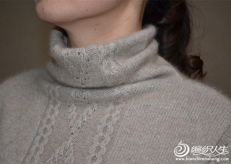 【阿珍手工】倩影-堆领毛衣—九色鹿昆仑山羊绒15.jpg