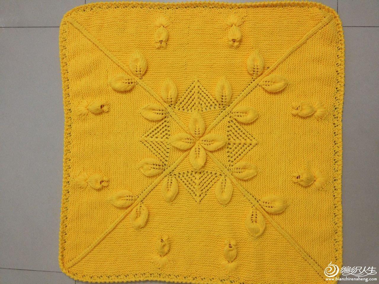 整张毯子的成品图