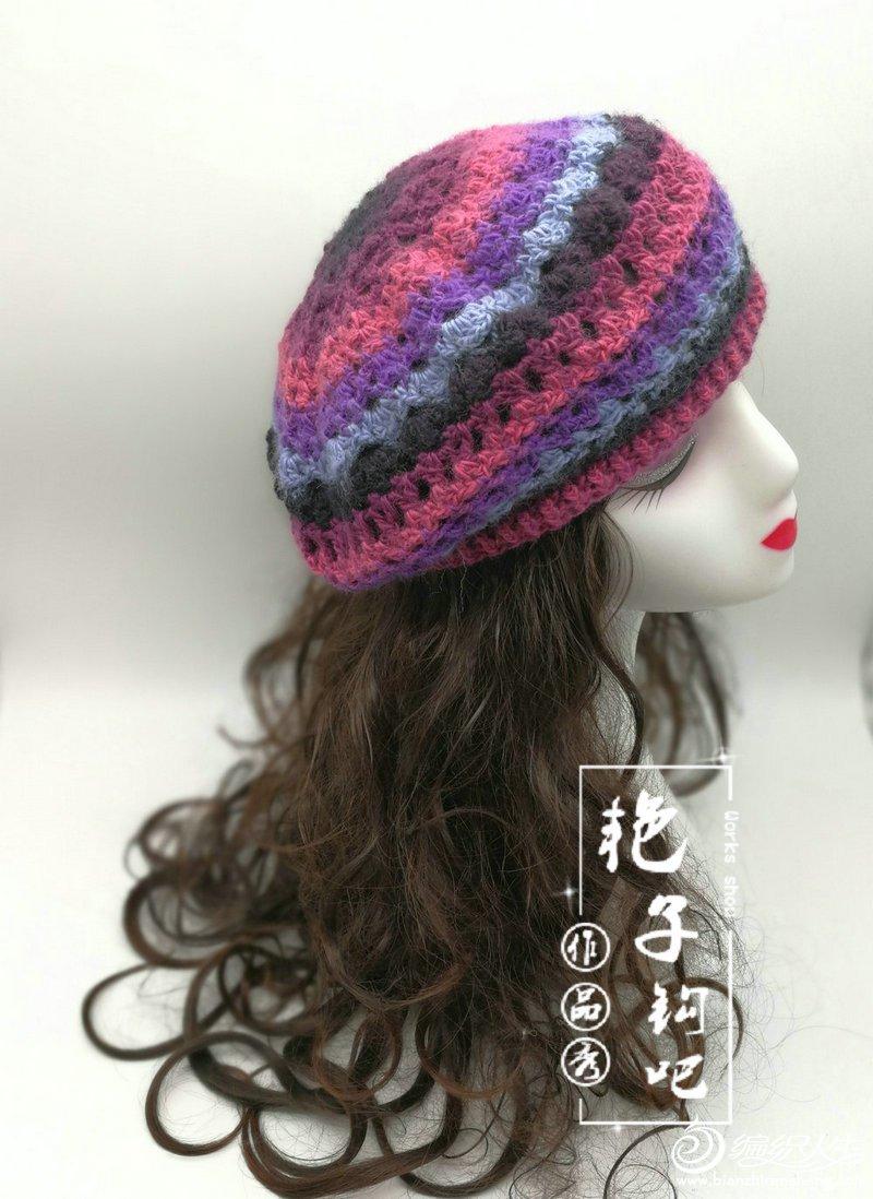 贝蕾帽-西班牙蕾丝皇后_07.jpg