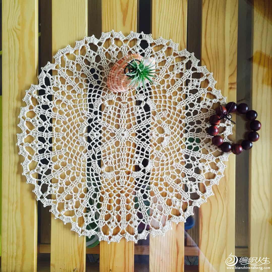 钩针蕾丝桌布