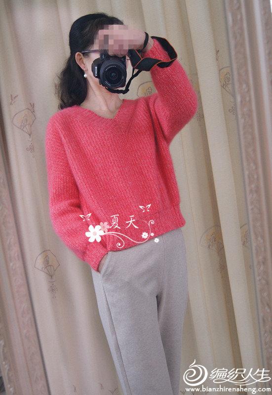女士棒针羊毛衫