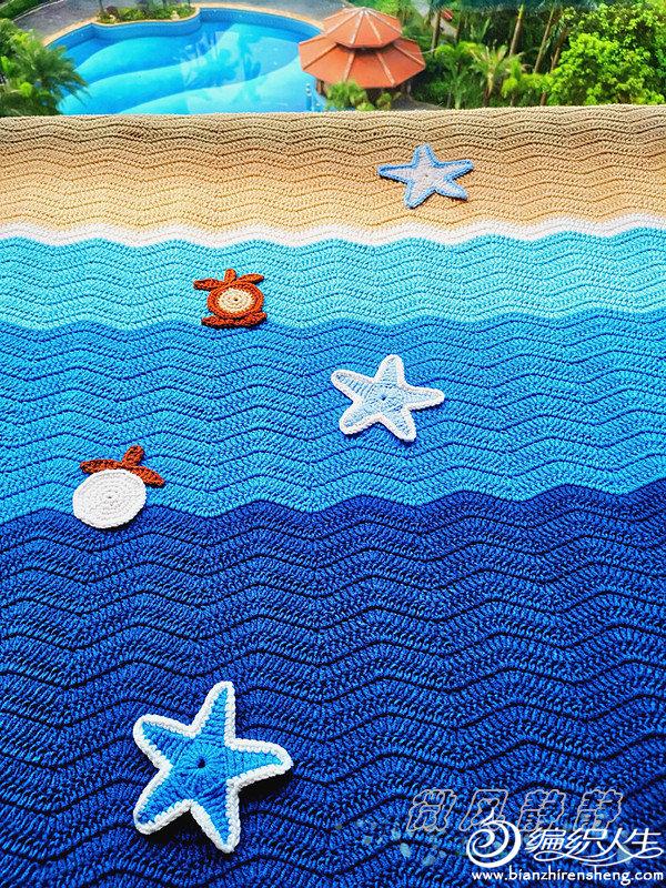 夏日钩针毯子