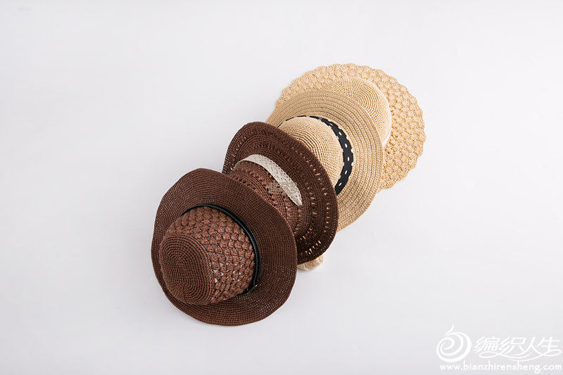 女士鉤針太陽帽