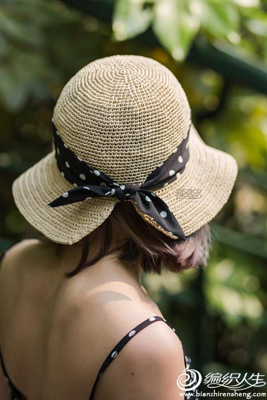 鉤針太陽帽