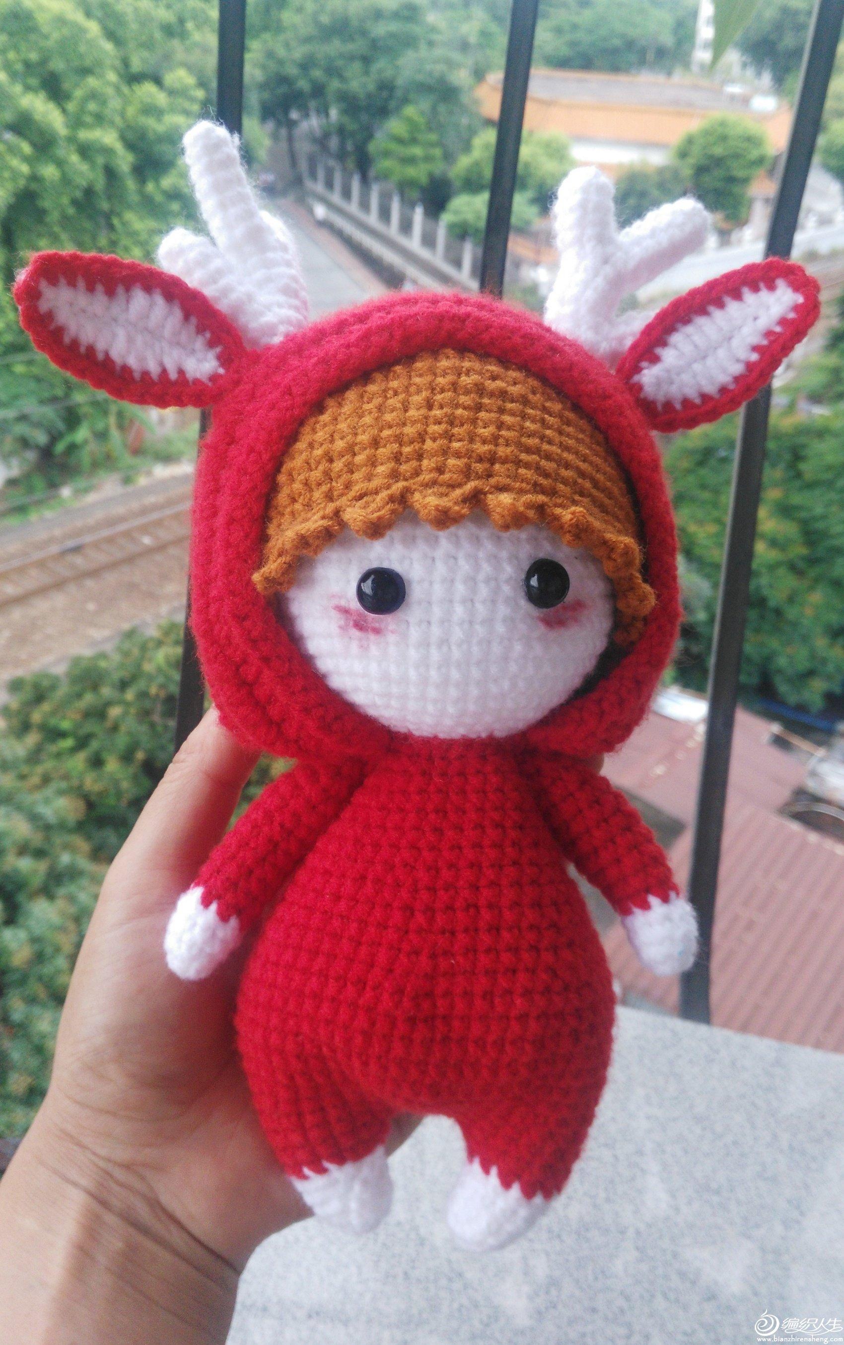 毛线编织娃娃