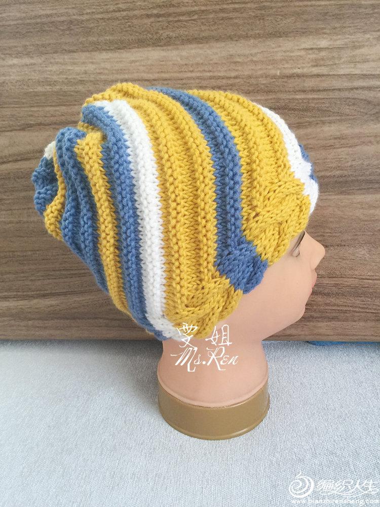 手编毛线帽