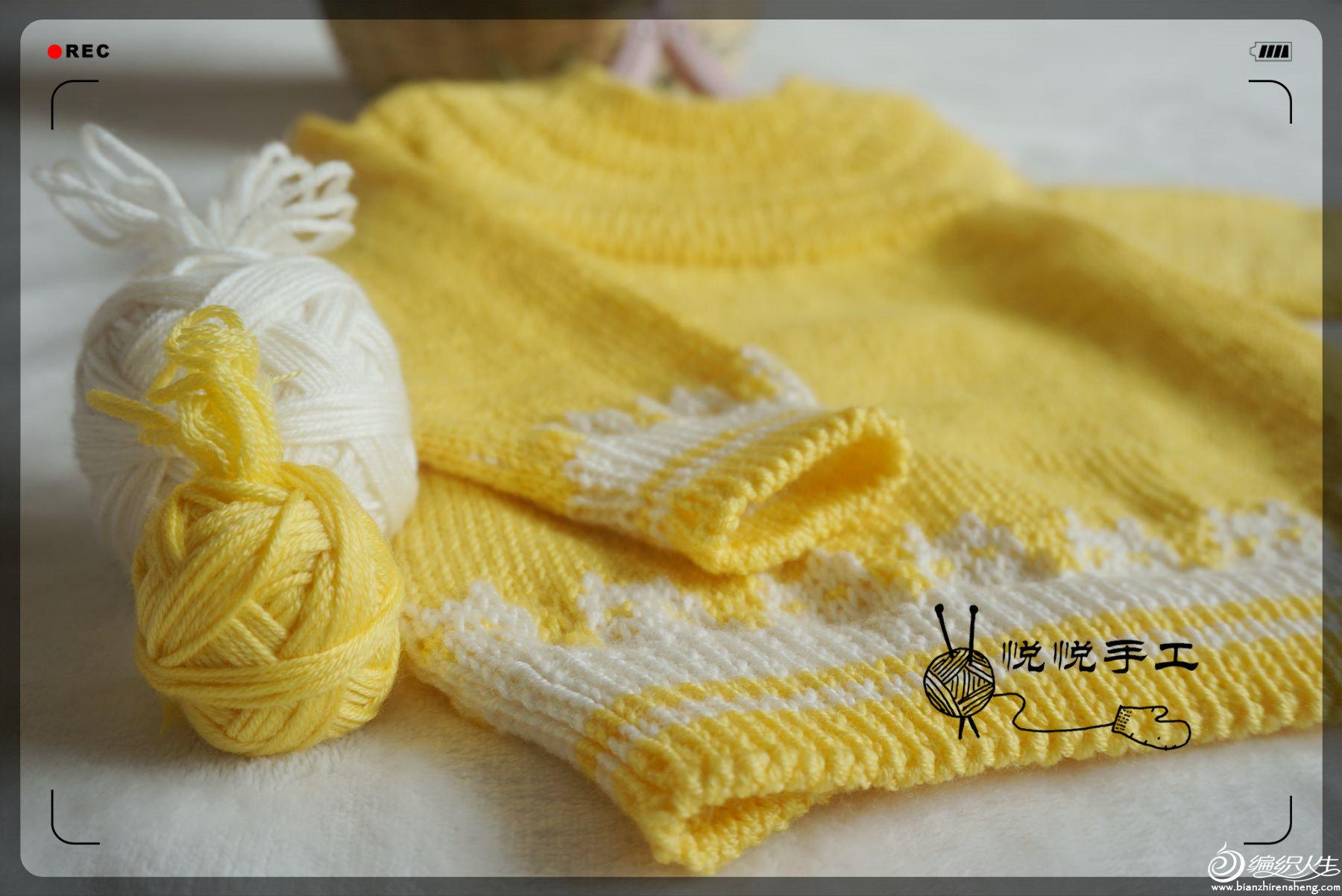 儿童棒针围巾
