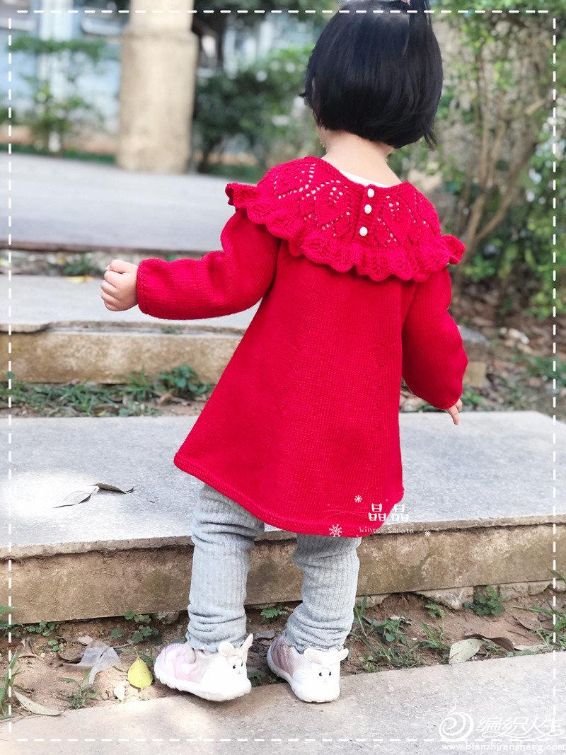 兒童棒針裙裝