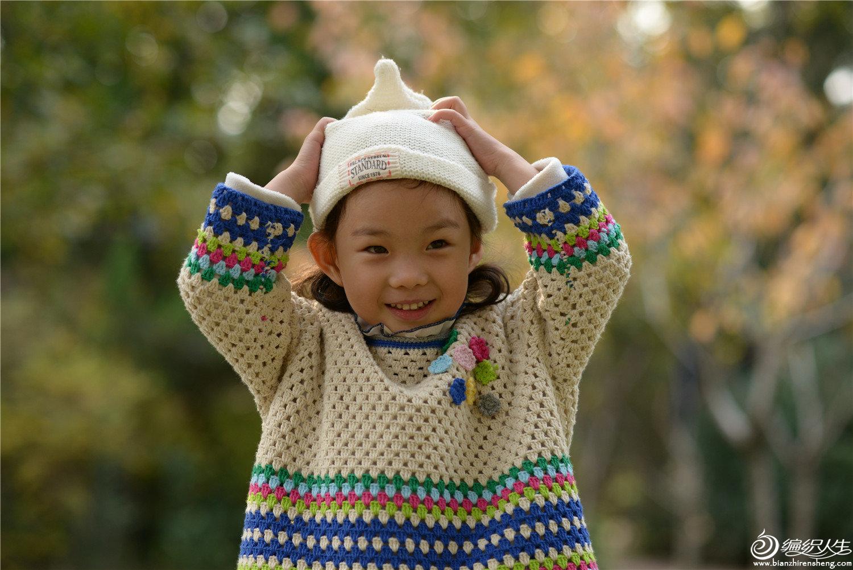 儿童钩针套头衫