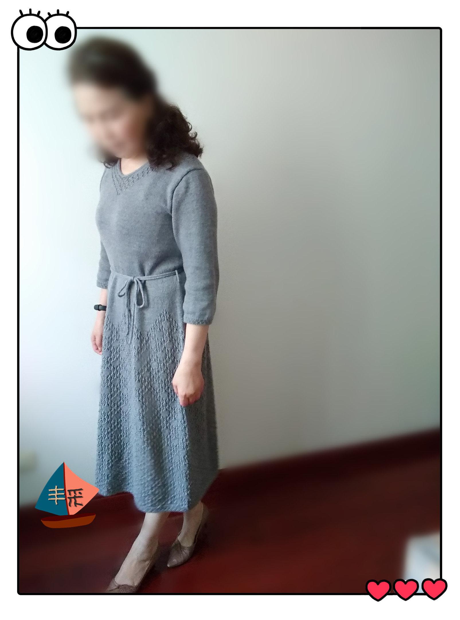 女士棒针裙装