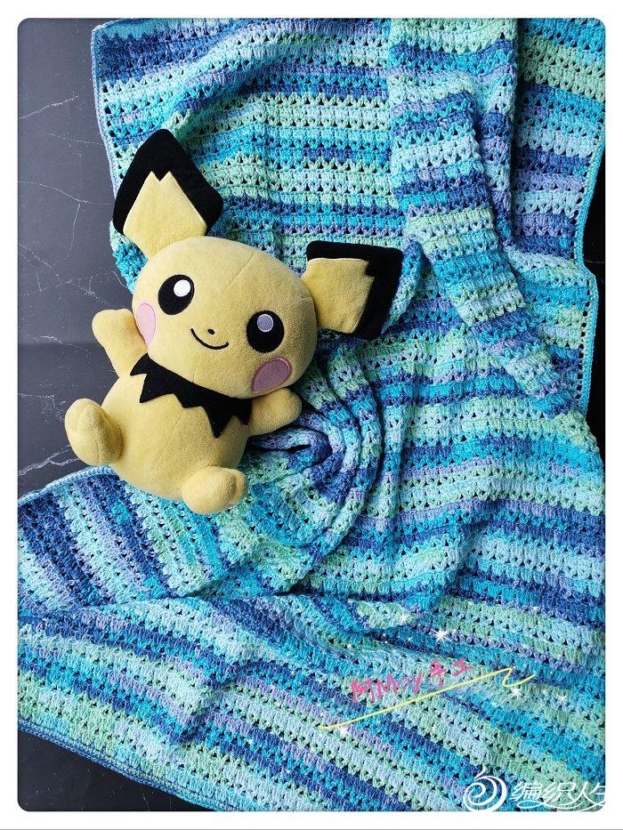 儿童钩针毯子