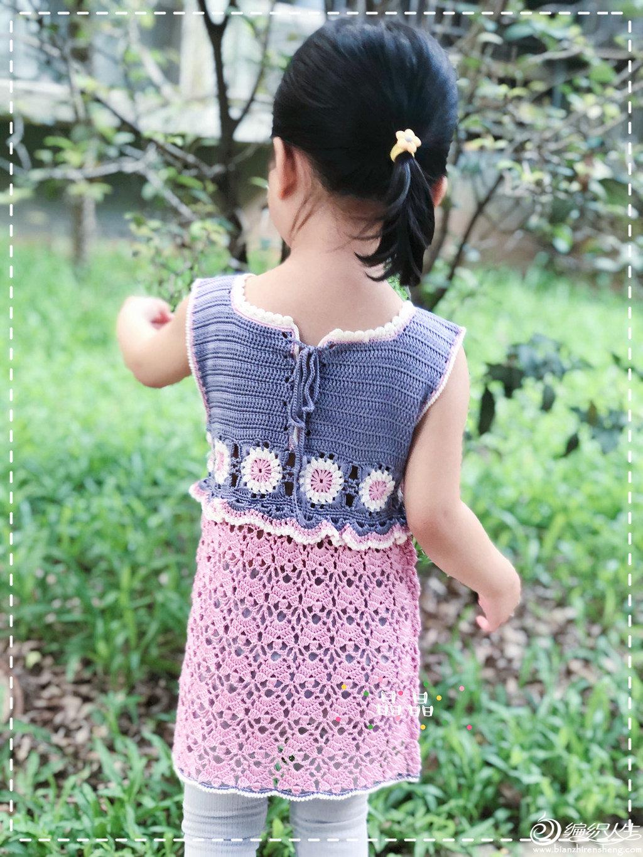 钩针蕾丝公主裙