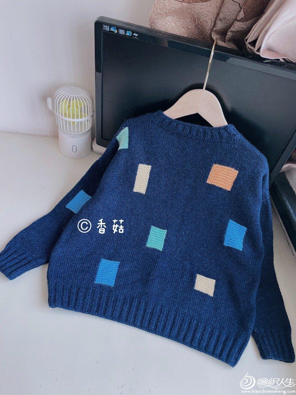 棒针儿童毛衣