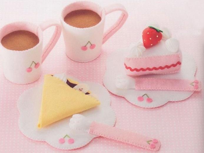 草莓三角蛋糕的运用