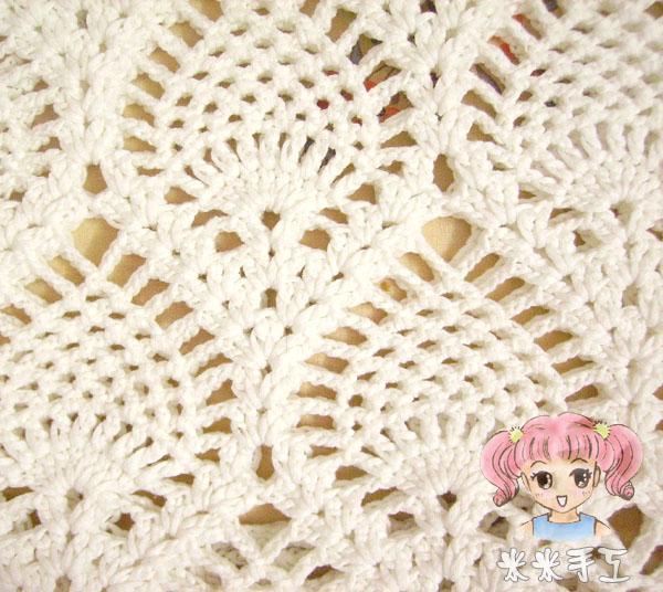 钩玫瑰花图解_米米的扁带线菠萝花衣衣完工了~钩得最快的一件(6.5加了件鹅黄色 ...
