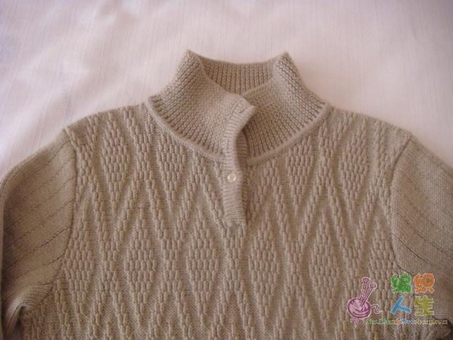 儿子的长毛衣-领.JPG