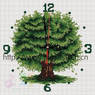 钟表-004 常青树.jpg