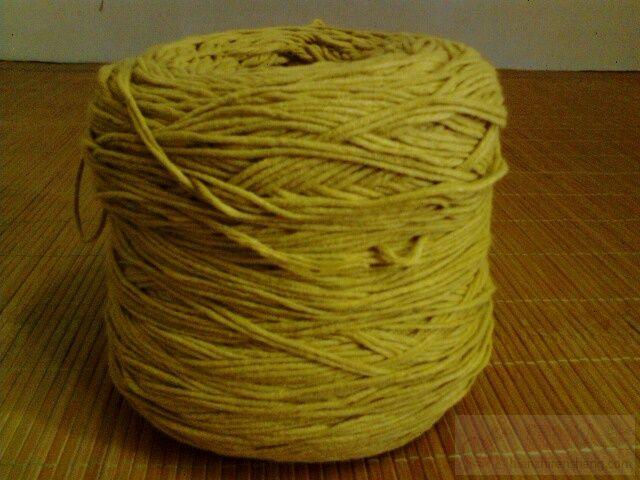 小鸡黄圆棉线5股   1J