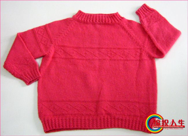 紫红色女童毛衣--休闲舒适.jpg